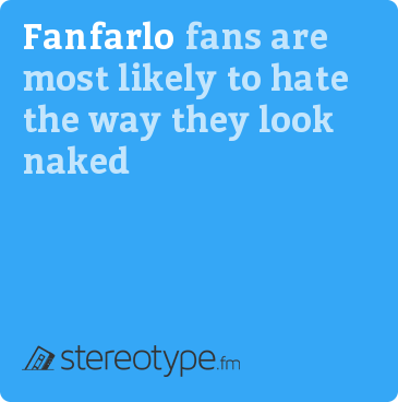 Fanfarlo fans are most likely to hate the way they look naked